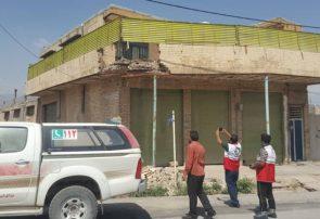اعزام ۱۲ تیم ارزیاب هلالاحمر به منطقه زلزله زده گچساران+تصاویر