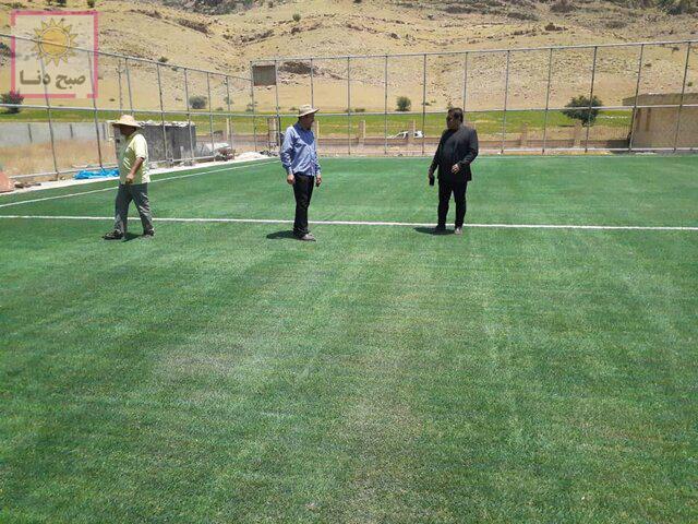 عملیات اجرایی پنج طرح ورزشی در باشت آغاز شد