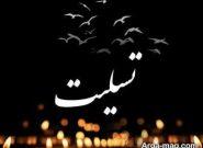 """پیام تسلیت محمد بهرامی به در پی درگذشت """"اسفندیار فروزان"""""""