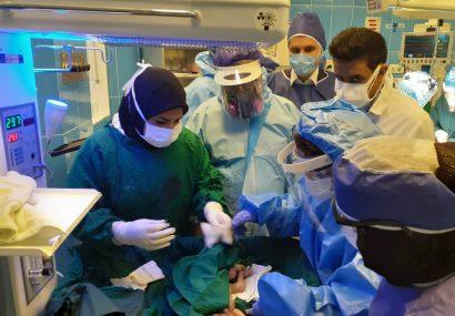 عملیات احیای نوزاد ۳۳ هفته و نارس در بیمارستان شهید جلیل یاسوج با موفقیت انجام شد